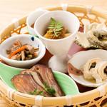 杜若 - 前菜6種盛り