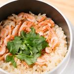杜若 - 桜海老の釜飯