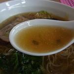 麺屋 信 - こってりでも透き通ったスープ
