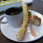 スペインバル カメレオン - 食うポンランチ¥1000(共通の前菜セット)