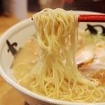 まんかい - ①純とん 麺