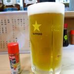 26364375 - 生ビール(中)950円 800mlサイズ!