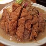 ハカタノチカラ - 今日の夕飯。チャントンDX、いただきました。ご馳走さまでした。
