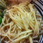 極麺 青二犀 - しおらーめん・麺