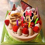 プチ・スウィート - ミニーマウスのキャラクターケーキ