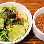 ステーキのくいしんぼ - サラダとスープ