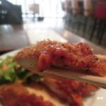 沖縄創作ダイニング 菜美ら - サクッと肉厚。おひとつどうぞ~~