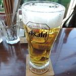 バル ノーネーム - 生ビール中450円