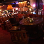 ホットブルースカフェ - 見晴らし抜群の二階席