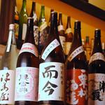 とわんち - 日本酒は常時10種以上。毎月入れ替わっていきます。