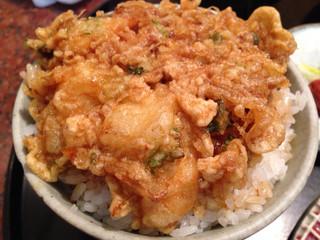 天廣 - 天ぷら定食/かき揚げ丼
