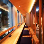 KICHIRI - 新宿の夜の街を見下ろすカウンターカップルシートはムード感漂うデートに最適♪♪
