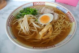 香味徳 由良店 - 香味徳由良店・ラーメン中¥550(2014.01)