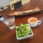 バルケッタ - サラダとスープ