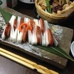 醸し屋 素郎slow - ほうじ茶とウィスキーチップで燻製に!