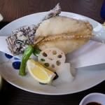 福 - おこぜ唐揚げ定食2