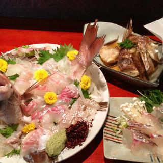 その日一番おいしいお魚を御提供致します!