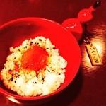 seasonal bar Nanairo - なないろ漬け卵ごはん