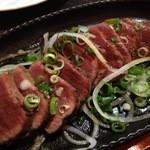 御肉 - ◆脂付ハツのステーキ