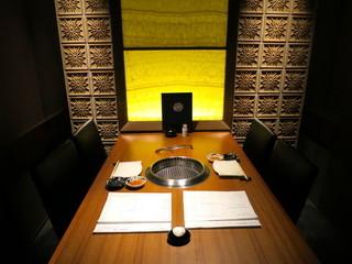 華火 錦店 - 4階のラグジュアリーな個室