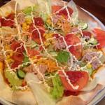 塩胡椒 - サラダピザ