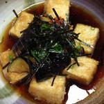酒房とまと - 揚げ出し豆腐