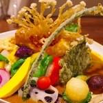 みたか カレーの日 - 野菜カレー