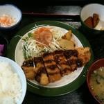 どん亭 - チキンカツ定食500円☆(第二回投稿分①)