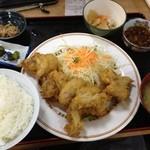 どん亭 - とり天定食500円☆(第二回投稿分②)