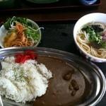 どん亭 - ビーフカレー+うどん500円☆(第三回投稿分②)