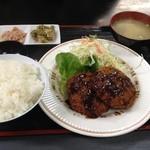 どん亭 - メンチカツ定食550円☆(第四回投稿分③)