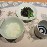 上越やすだ - 新潟県産コシヒカリ、日本酒  菊水、ひじき