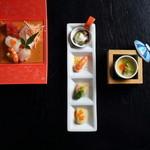 味彩むさし - 料理写真:おまかせコース 3000円~