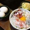 月島もんじゃ じゃんじゃん - 料理写真:お好み焼きスペシャル(豚、たこ、いか、えび、ほたて、麺、玉子2個)