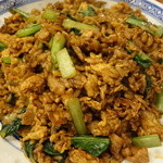 中国ラーメン揚州商人 - 黒酢炒飯