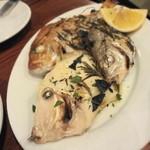 OSTERIA il FUOCO - お魚の香草窯焼き
