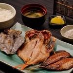 ◆三種干物定食…1,650円