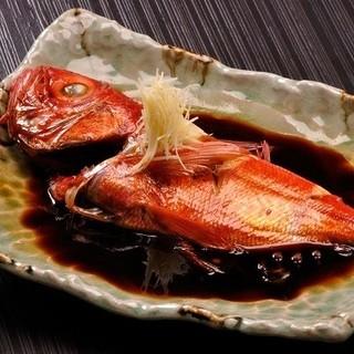 名物『金目鯛の煮付け』・・・3000円~5000円