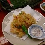 寿司 櫓 - かき揚げ
