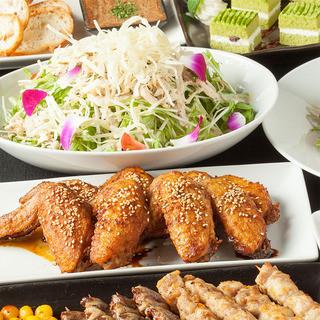 料理+飲み放題2,500円コースあり