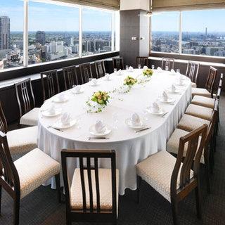 接待や同窓会、お顔合わせ等に最適な個室をご用意しております。