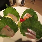 平成ゆとりキッチン~礎 - 刺身盛り合わせ1人前(500円)