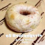 エス・ブーランジュリー - いちごとホワイトチョコのベーグル