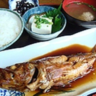 深海煮魚定食…1,500円(税抜)