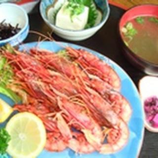赤エビ定食…1,500円(税抜)