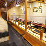 nagoyasaiseisakabamitsuemon - 座敷もいっぱい。