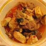 ワイフイズボス - <豚肉と豆腐のピリ辛炒め>