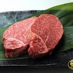 肉の郷 ちべ - ちべ自慢の宮崎牛シャトーブリアンです。さっとあぶって、塩、わさび、ポン酢でお召上がりくださいませ。