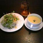 2643247 - セットのスープ・サラダ