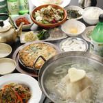 東大門タッカンマリ - 料理写真:タッカンマリコース11品